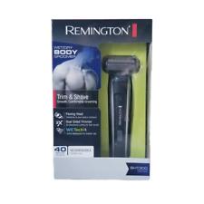 Remington BHT3000 Wet/Dry In-Shower Body Groomer, Trimmer & Shaver, 120V