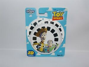 NEW Fisher Price 2006 TOY STORY  View-Master 3D Reels - 3 Discs in Package