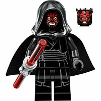 LEGO® Star Wars Darth Maul Black Minifigure Hood and Cape Crown From Set 75096