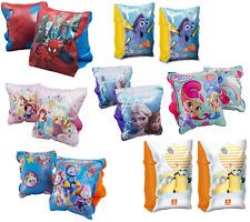 Kids Swim Arm Bands PawPatrol,Avengers,Frozen Inflatable Swimming Aid Girls Boys