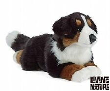 BERNESE MOUNTAIN DOG - LIVING NATURE CUDDLY FLUFFY PLUSH TEDDY TOY AM315