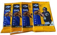 (4) 1998 SCORE PINNACLE NFL FOOTBALL SEALED PACKS
