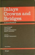 , Inlays, Crowns and Bridges, Hardcover, Very Good Book