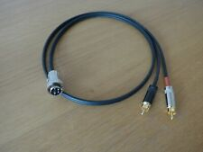 4 Pin Din To RCA/Phono Cable Interconnect For Naim 0.5m