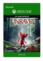 UNRAVEL XBOX ONE FULL GAME KEY