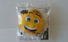 New McDonalds Happy Meal #1 Emoji GENE Toy ~ Factory Sealed FREE SHIP!