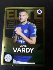 Jamie Vardy Elite Panini Sticker 2020 Mint Leicester City