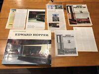 Lloyd Goodrich / Edward Hopper 1st Edition ART ILLUSTRATIONS 1978 Harry Abrams