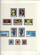 1988 MNH Jersey year collection, postfris** (3 scans)