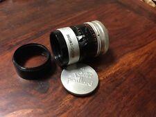 Macro-Switar 12,5 mm f 1,3 H8 RX  mount C  Kern-Paillard Bolex H8 reflex