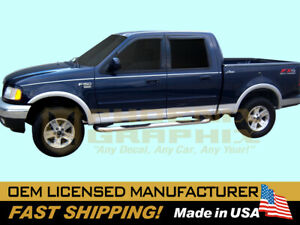 compatible with,1997- 2003 Ford F150 Lariat Truck Upper &Lower Stripes Decals