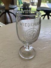 Circa 1900 Wiedemann's Newport Ky Embossed Goblet