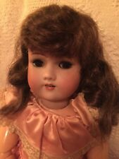 "Antique  24"" Bisque Doll Simon & Halbig 1079 8 1/2 Compo Body"