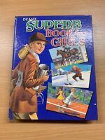 """1964 """"DEAN'S SUPERB BOOK FOR GIRLS"""" CHILDRENS LARGE HARDBACK BOOK"""