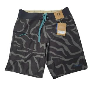 """Patagonia Men's Stretch Planning Board Shorts 19"""" Size 30 Tiger Tracks Camo NWT"""