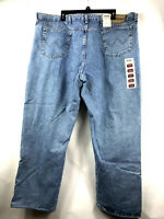 Wrangler Rugged Wear Mens Relaxed Fit Jean Size 46 x 30 Big and Tall Vtg Indigo
