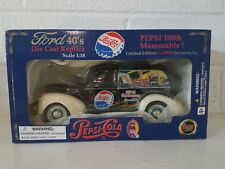 Golden Wheel 1940 Pepsi Ford Delivery Truck 1:18 Scale Diecast Car Limited Ed