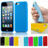 Ultra-Thin Candy Color Soft Silicone TPU Case Cover For iPhone 5C 5 6 6s 7 Plus