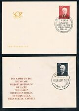 DDR 673,784,807; Pieck aus 1959-1961, 3 Pracht-FDC, gepr. Mayer VP