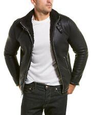 NWT Karl Lagerfeld Men's Buckle Collar Moto Jacket Size XL