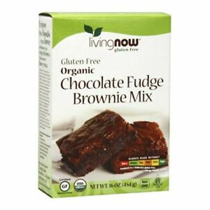Organic Gluten Free Chocolate Fudge Brownie Mix 16 Oz