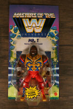 MR T Masters of the WWE Universe Heroic Pitier of Fools Mattel MOTU Unpunched