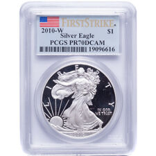 2010-W Silver American Eagle Proof PCGS PR70DCAM First Strike