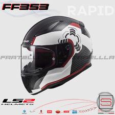 Casco Integrale LS2 FF353 Rapid Ghost White Black Red 103532732