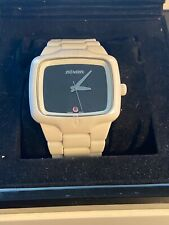 Nixon The Ceramic Player Automatic Watch White/Black *Rare*