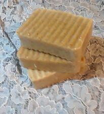 3 Handmade Egg whites Soap/Shampoo Bars  lavender essential oil blend