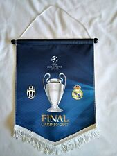Champions League Final Cardiff 2017 - Juventus v Real Madrid - Pennant - BNWT