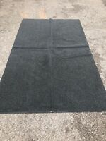 Waterproof Rubber Backed Walkover Mat Dirt Trapper 115x180 Oil Petrol Diesel