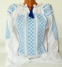 Romanian Tunic Embroidered Blouse - all custom sizes