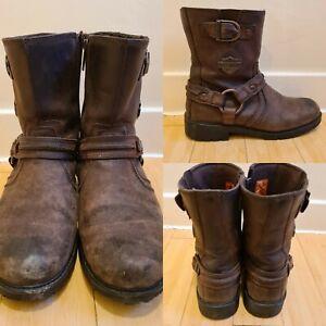 Harley Davidson Abner Boots Size 9