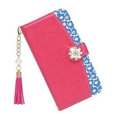 Genuine Leather Pearl Tassel Cover For iPhone 11 Pro Max XS XR 8 7 6s+ Flip Case