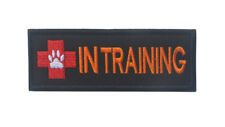 IN TRAINING U.S. ARMY USA TACTICAL PATCHES MORALE 3D EMBRODIERED HOOK PATCH ^07