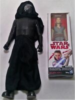 "Star wars Rey Kylo Ren jedi hasbro disney action figure toy lot 2 18"" x47"