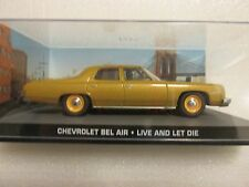 JAMES BOND CARS COLLECTION 124 Chevrolet Bel Air Live and Let Die
