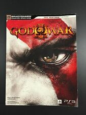 God of War 3 Bradygames Strategy Guide