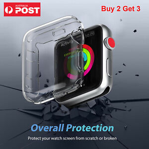 For Apple Watch Screen Protector Case iWatch Protector for iWatch 6 5 4 3 2