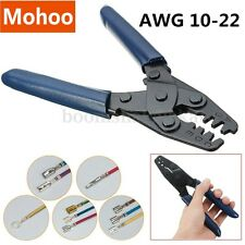 AWG 10-22 Terminal Crimp Electrical Hand Crimping Open Tool Wire Stripper Plier