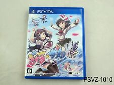 Gal Gun Double Peace PS Vita Japanese Import PSVita Japan Galgun JP US Seller