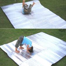 Aluminum Foil sheet Big Car Hiking Travel Blanket Thermal Camping Mat Waterproof