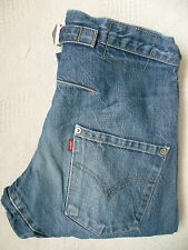 LEVI'S TYPE 2 TWISTED ENGINEERED JEANS W28 L32 STRAUSS BLUE LEVG228