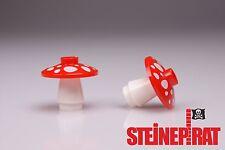 LEGO® 2x Fliegenpilz Set 4589b & 4740pb004 ***NEU*** / Pilz / Giftpilz / Pflanze