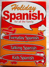 Holiday Spanish for All the Family-3 x PC CD-ROM- Everyday, Talking and Kids
