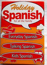 Vacaciones Español para todos los Family-3 X Pc Cd-rom - todos los días, hablando y Kids