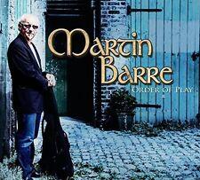 Martin Barre - Order of Play [New Vinyl] UK - Import