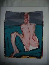 1 Farb-Lithografie D.Ladewig 1990 handsigniert/nummeriert