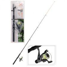 6' Telescopic Fishing Rod Reel Set Coarse Fishing Teens Adults Starter Travel